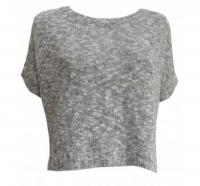 Vince Chunky Short Sleeve Sweater