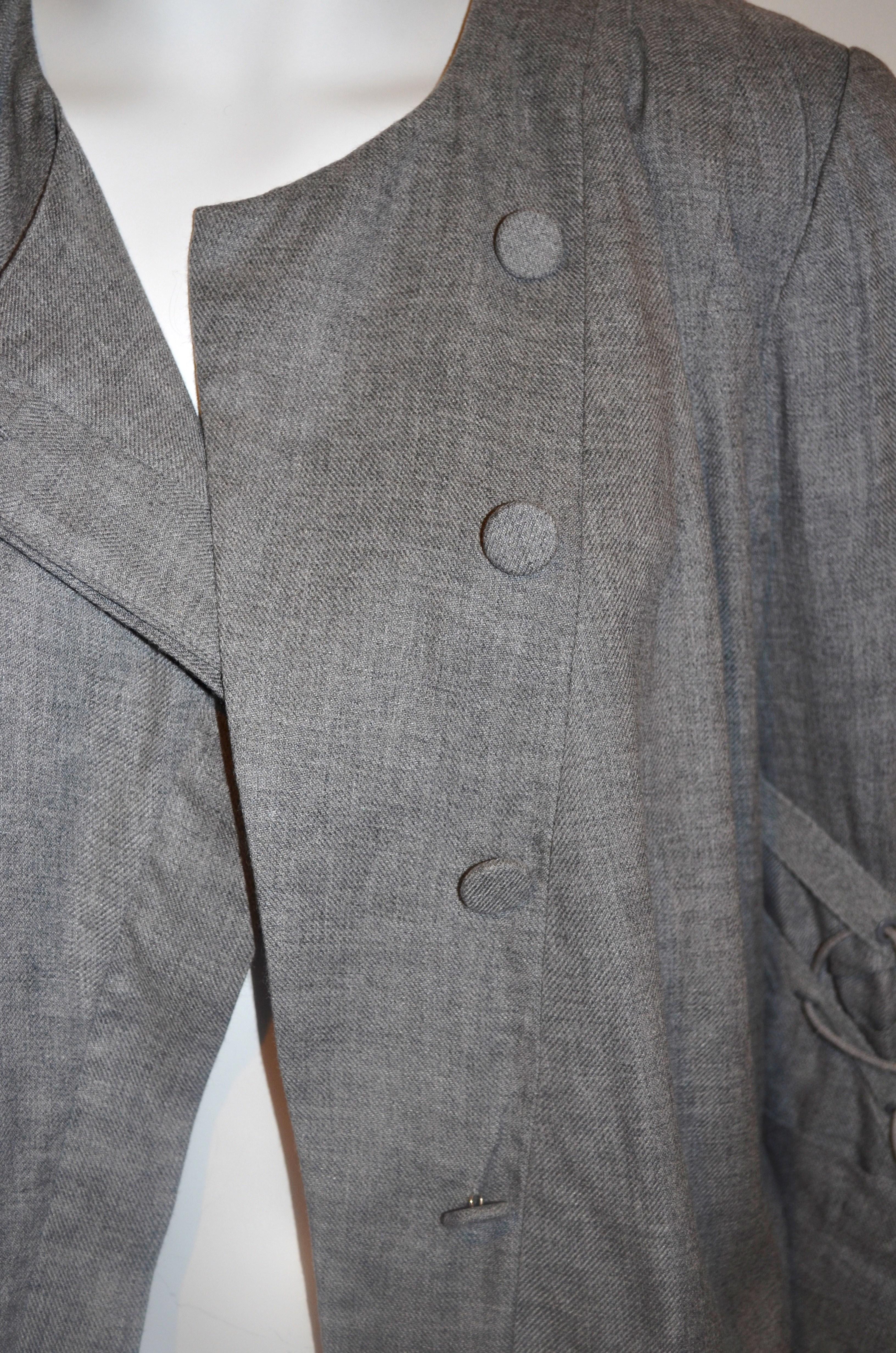 Camilla and Marc Grey Jacket