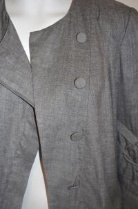 Camilla and Marc Grey Jacket Angle3