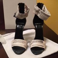 Pierre Hardy snake leather slim shoe Angle4