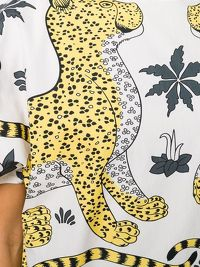 HERMÈS Leopard Printed Top Angle6