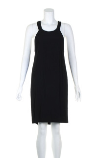 Sandro black casual sleeveless dress.