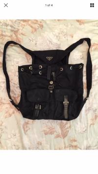 Prada bagpack