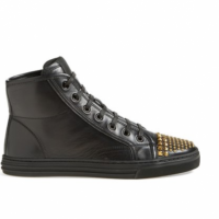 Gucci Studded High Top Sneakers