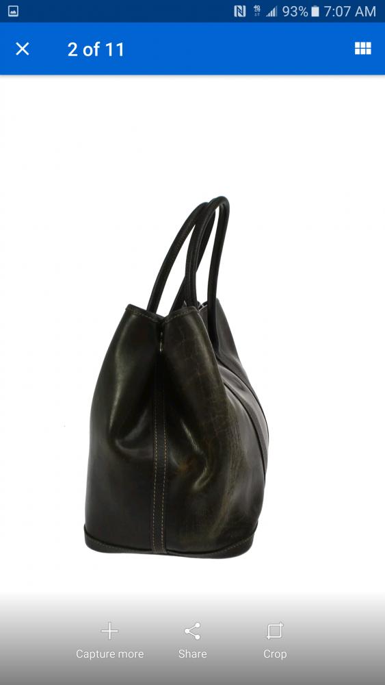Hermes Garden Party Bag