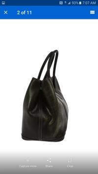 Hermes Garden Party Bag  Angle2