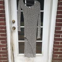 Helmut Lang Asymmetrical Sweater Dress size P/XS
