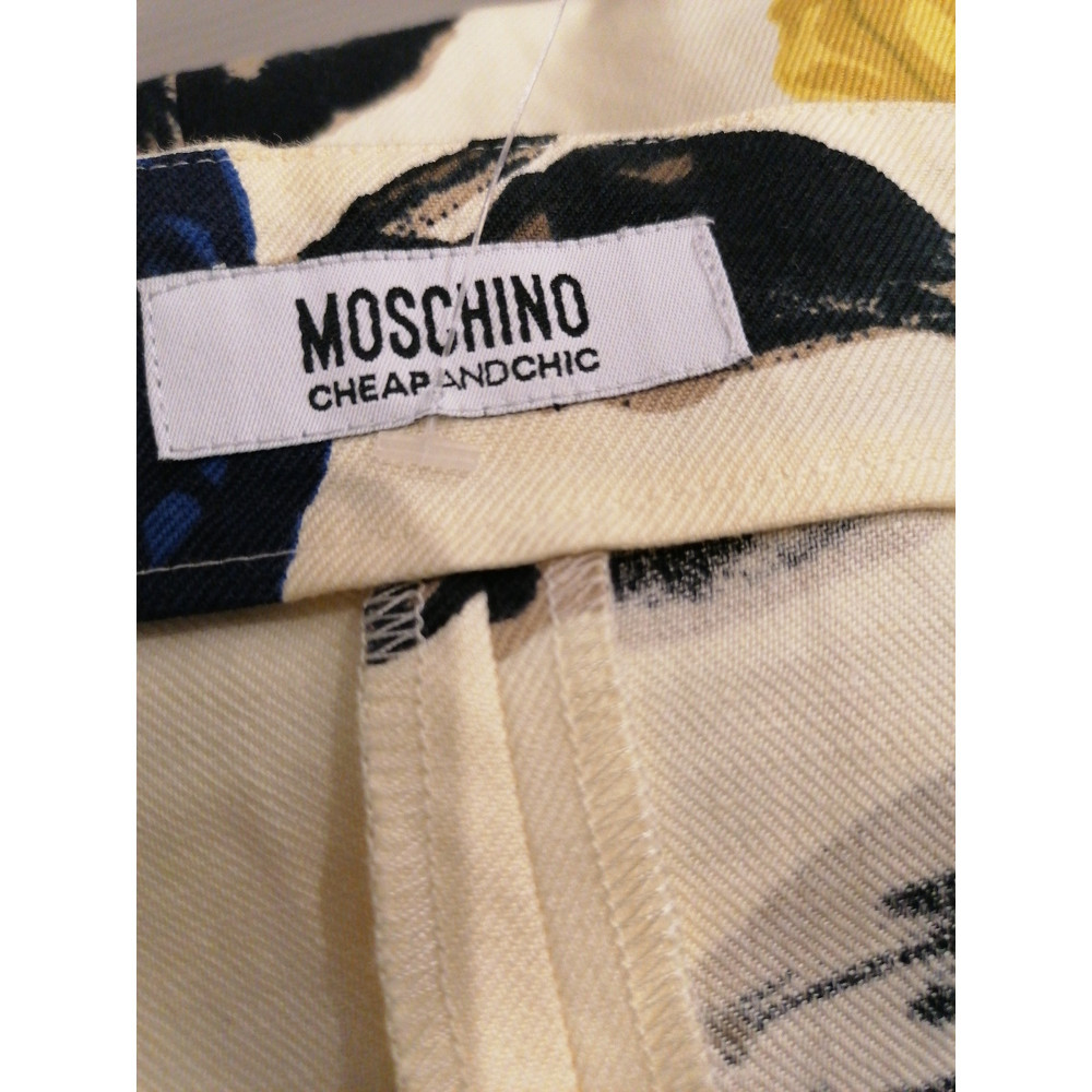Moschino Cheap And Chic Dress In Linen