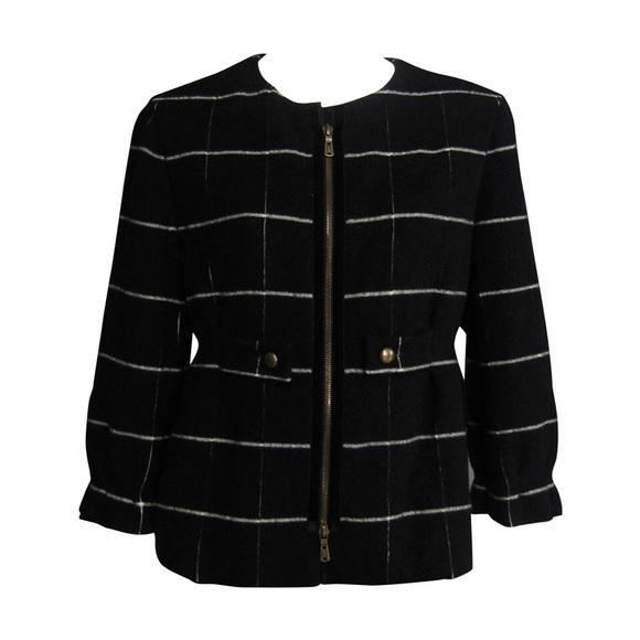 YSL Edition 24 cropped wool jacket