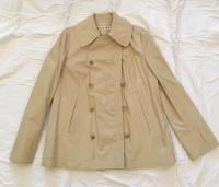 Essential Marni Leather Pea Coat New!