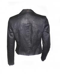 Mason jacket black w/metallic Angle2