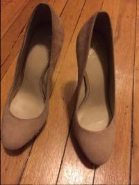 Brian Atwood Crystal Pumps in beige Angle2