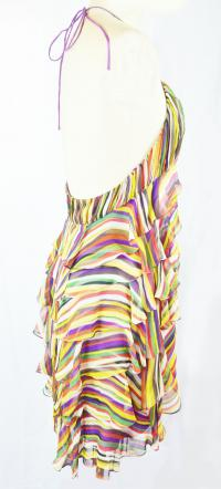 Water color empire waist flare Angle3