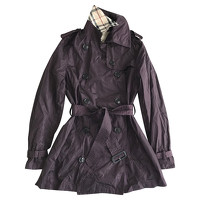 Burberry Jacket/Coat in Violet Angle1