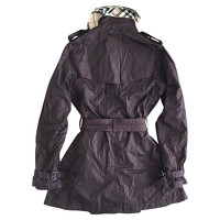 Burberry Jacket/Coat in Violet Angle2