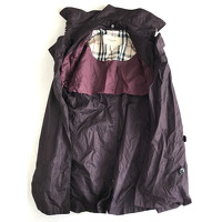 Burberry Jacket/Coat in Violet Angle4