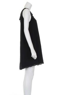 Temperley black knee length dress. Angle4