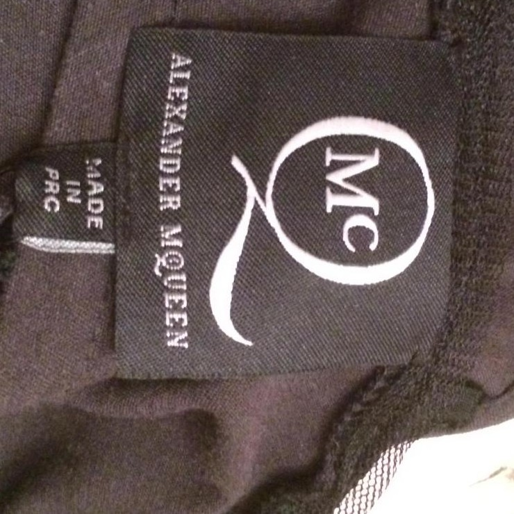 Alexander McQueen Black Corset new with tags