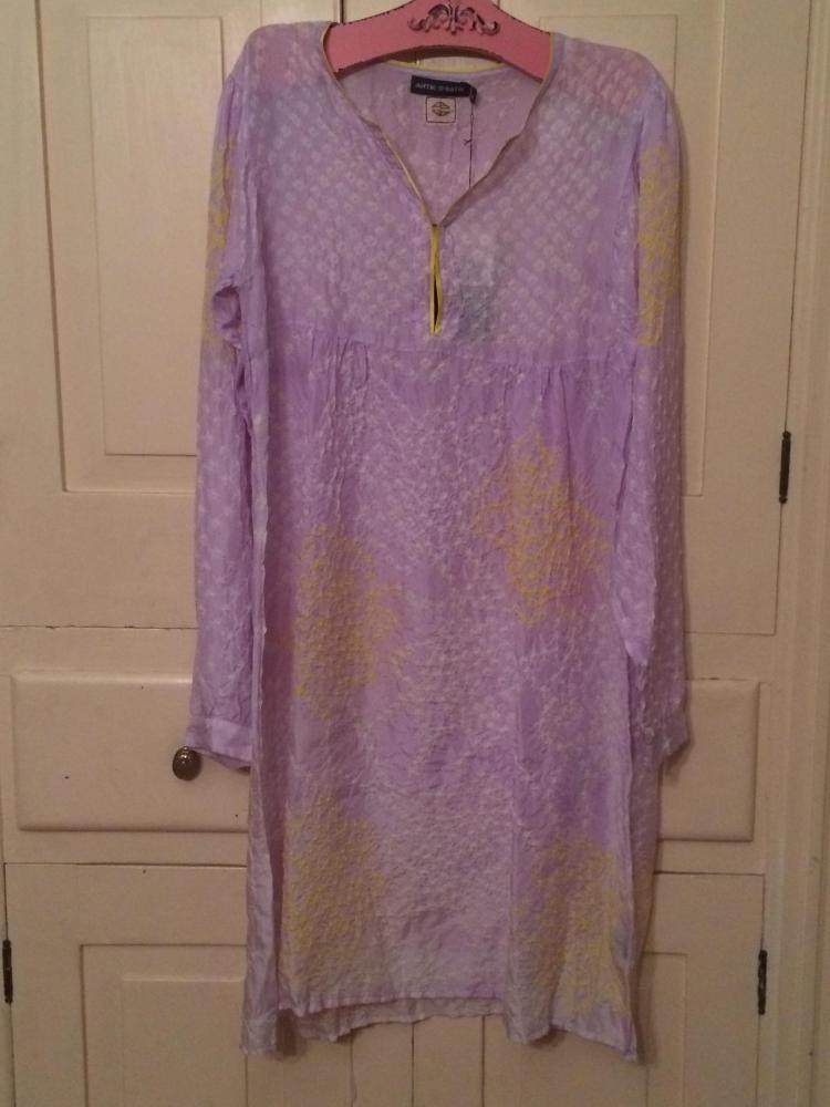 Antik Batik Silk Dress New with Tags