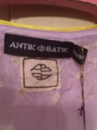 Antik Batik Silk Dress New with Tags Angle2