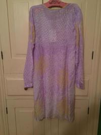 Antik Batik Silk Dress New with Tags Angle3