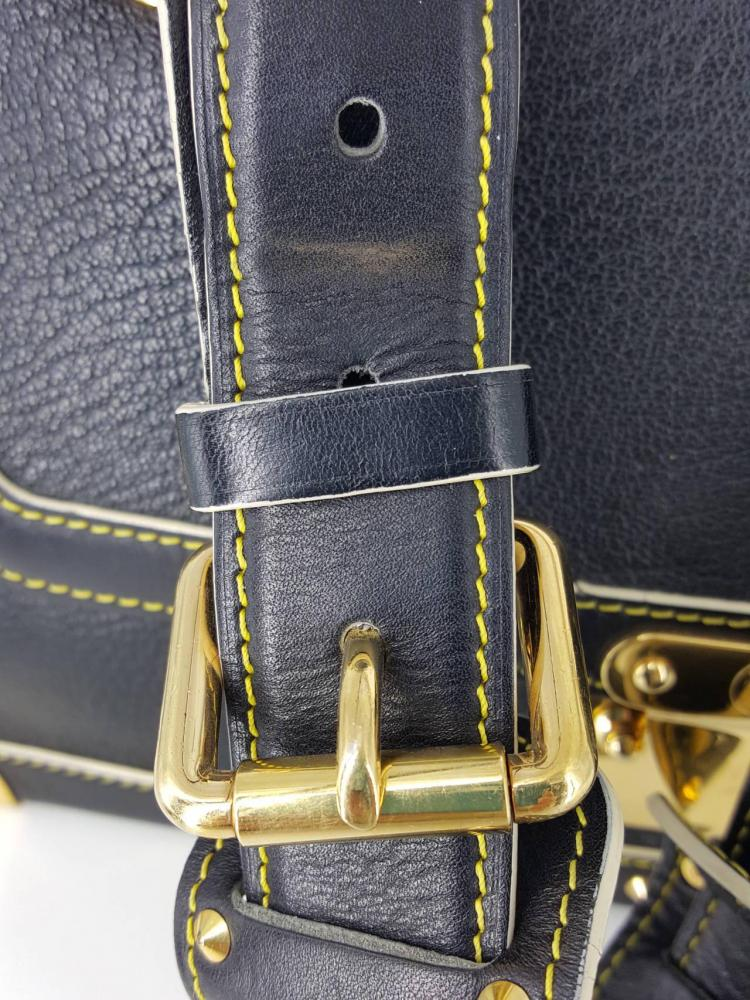 Louis Vuitton Black Suhali Le Talenueux Bag