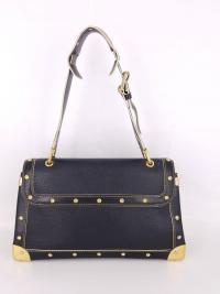 Louis Vuitton Black Suhali Le Talenueux Bag Angle3