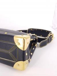 Louis Vuitton Black Suhali Le Talenueux Bag Angle4