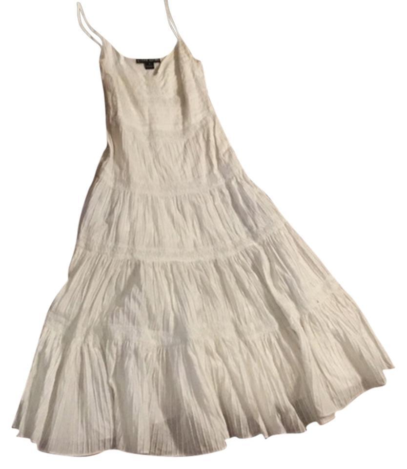 Ralph Lauren (Black Label) Pleated Maxi Dress