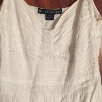 Ralph Lauren (Black Label) Pleated Maxi Dress Angle3