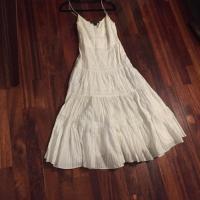 Ralph Lauren (Black Label) Pleated Maxi Dress Angle4