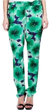 LOVE Moschino Silk Clover Pants