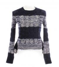 Prada knit w/lace peplum Angle1