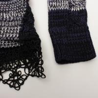 Prada knit w/lace peplum Angle2