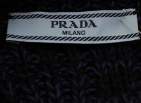 Prada knit w/lace peplum Angle3