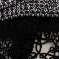Prada knit w/lace peplum Angle4