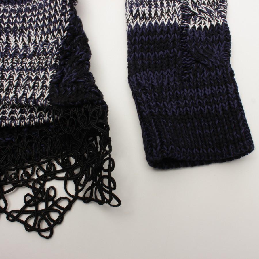 Prada knit w/lace peplum