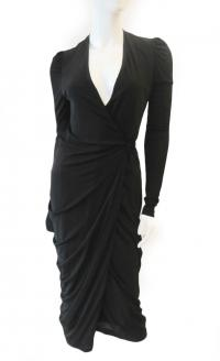 Alexander McQueen Draped dress