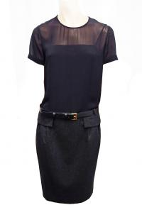 Belted Gucci Dress Angle1