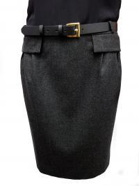 Belted Gucci Dress Angle2