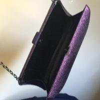 OVERTURE JUDITH LEIBER Purple  Clutch. Angle2