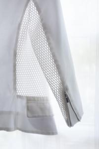 Spring Perforated-Panel Twill Jacket Angle4