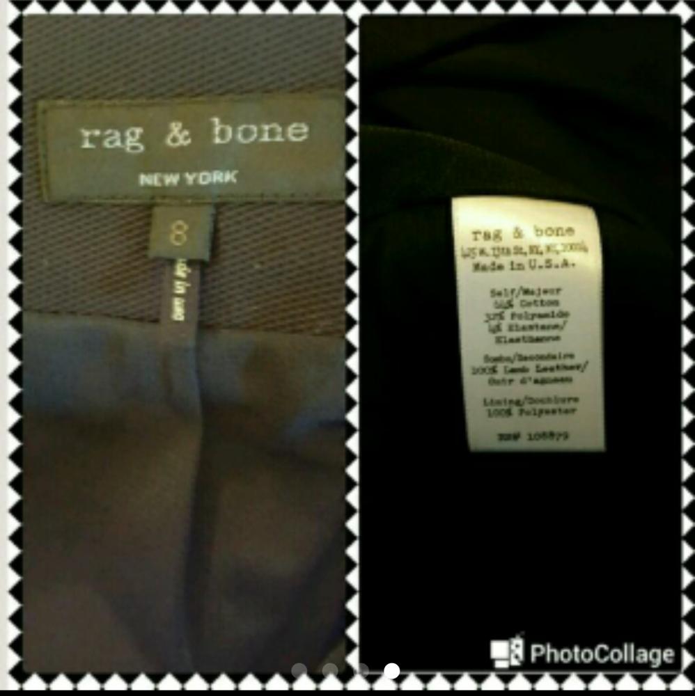 Like new Black Rag and Bone mini skirt