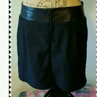 Like new Black Rag and Bone mini skirt Angle1