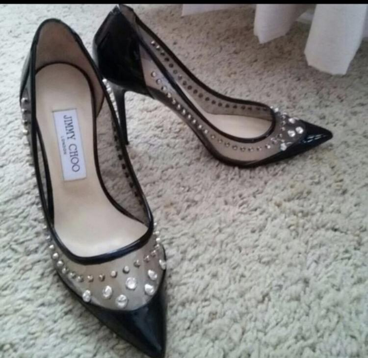 Jimmy Choo Sparkler pumps