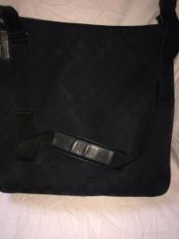 Gucci cross body bag in classic GG print