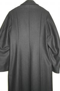 Ann Demeulemeester Black Wool coat Angle5