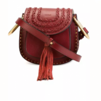 NWOT Sienna Red CHLOE Hudson Shoulder Bag