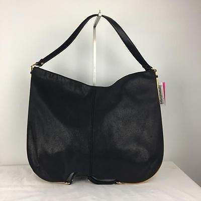 Stella McCartney Black Large Sparkly Shoulder Bag