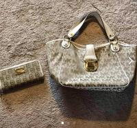 Michael Kors Signature Bag & Wallet
